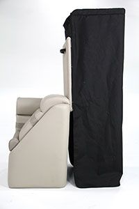 Chaise w/Privacy Station