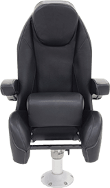 Black Label High Back Helm Seat with Bolster