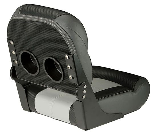 Fishing Seat Grey Back