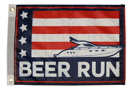 Beer Run Flag