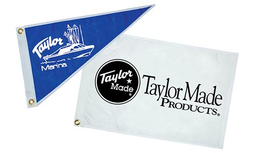 Custom Logo Flags and Pennants