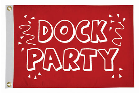 Dock Party Flag