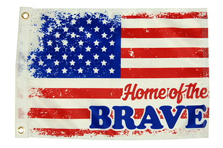 Home of the Brave Flag