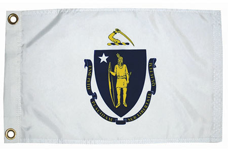Massachusetts State Flag