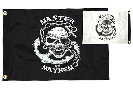 Master of Mayhem Flag