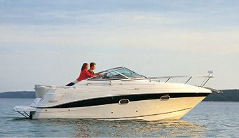 TAYLOR MADE PRODUCTS Trailerite Semi-Custom Boat Cover for V-Hull Cuddy Cabin Boats with Outboard Motor